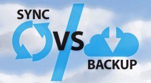 Cloud Sync vs Cloud Backup
